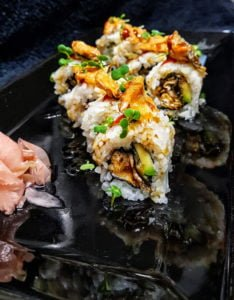 Sushi Salmon Skin Roll